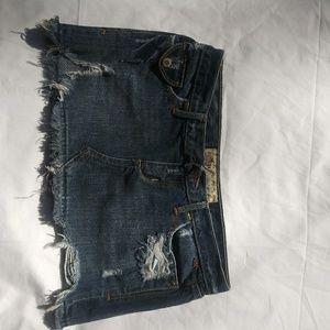 Size 1 Hollister jean skirt
